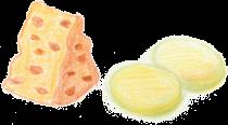 肉・魚・卵<br/>乳製品